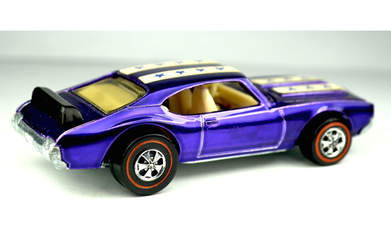 Purple Olds 442 1971
