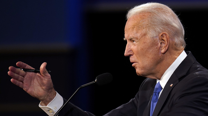 Biden vows to create 'Bidencare' during debate exchange