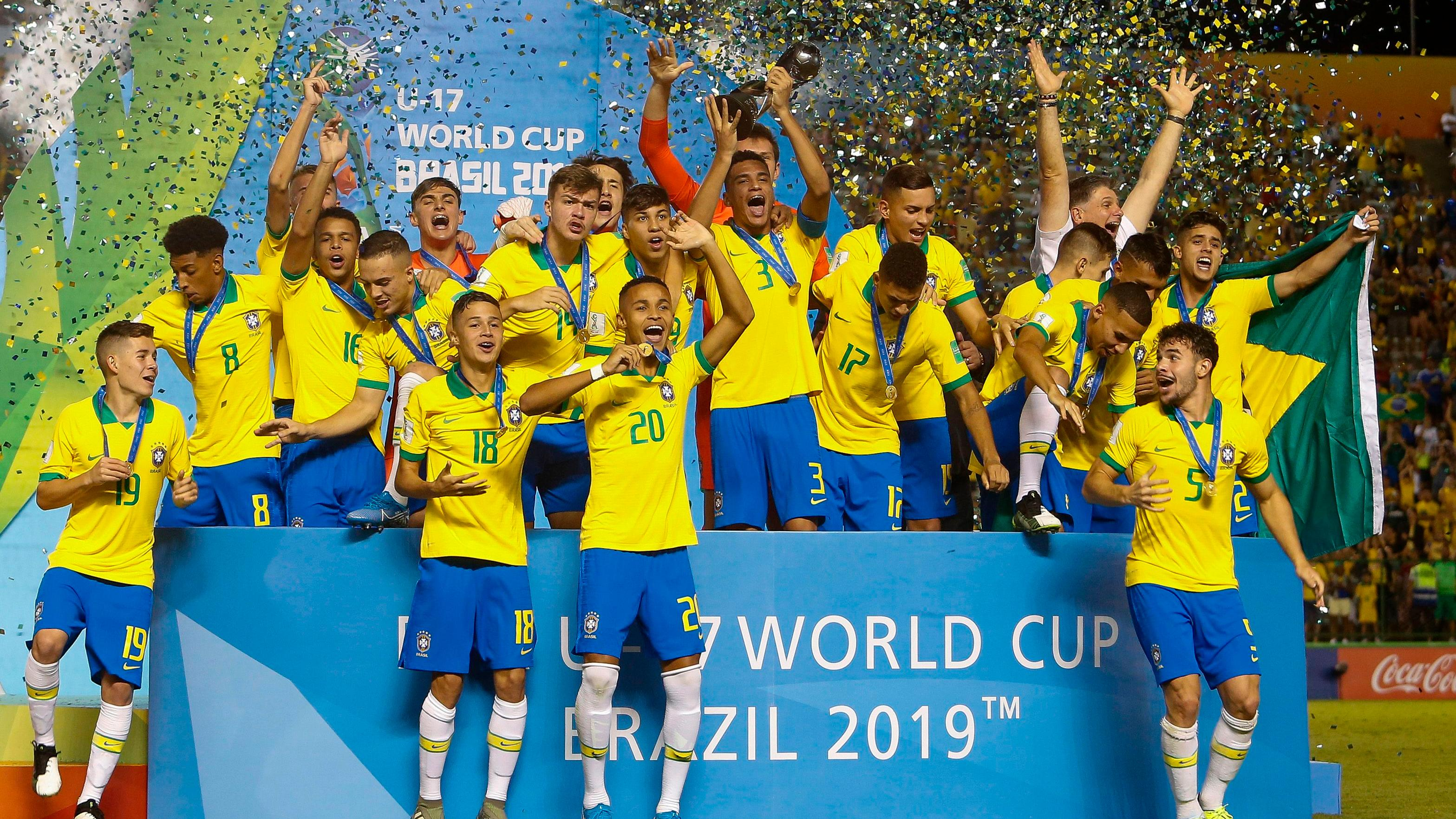 Brazil claim U-17 World Cup title with dramatic win over Mexico - Yahoo Sports