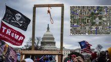 Disturbing image circulating amid threats of inauguration attack