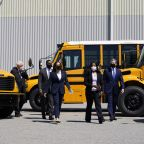 Dems push $25B for electric school buses, a Biden priority