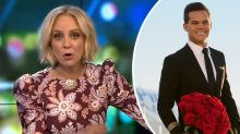 The Project's Carrie Bickmore reacts to Bachelor's shock confession