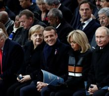 In solemn Paris ceremony, Macron leads global WW1 Armistice commemorations