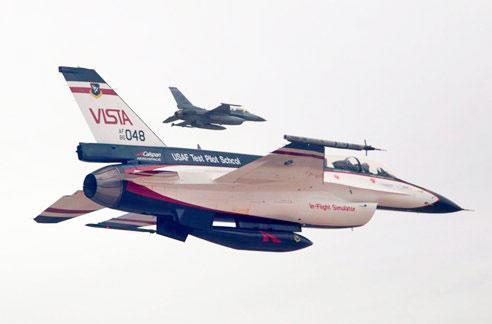 Air Force tests air-to-ground strikes with an autonomous F-16 wingman