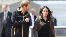 Meghan Markle and Prince Harry meet with athletes training for the Invictus Games: pics!