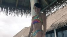 """Never too old for a bikini"": Davina McCall shares holiday snap"