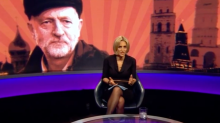 Newsnight denies photoshopping Jeremy Corbyn image to make Labour leader look Russian
