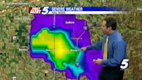 Video: Big hail storm south of Guthrie