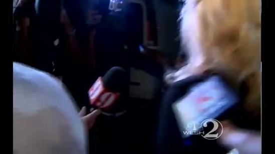 Raw Video: 'I'm going to Disney World,' Kelley says after acquittal
