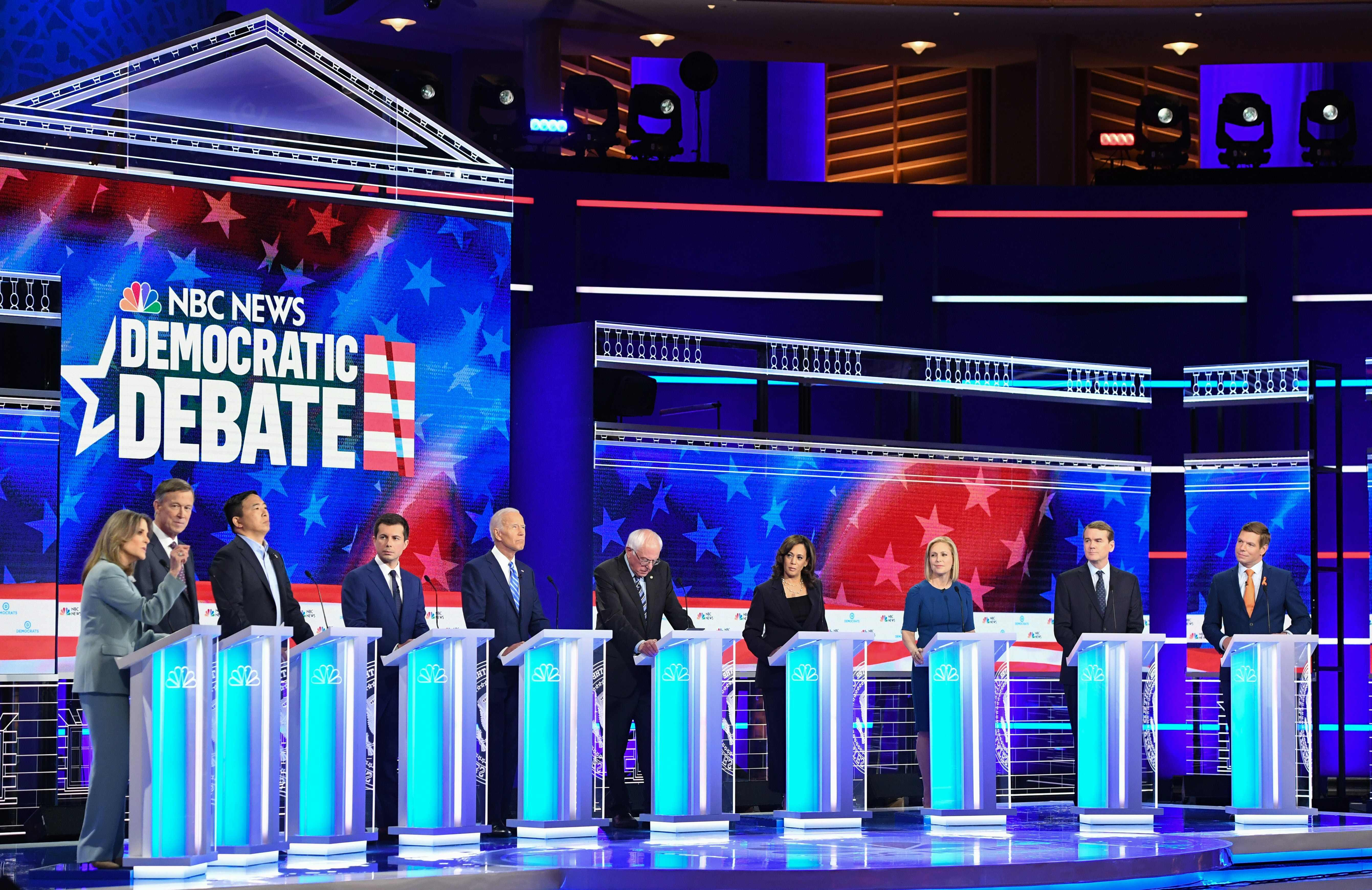 The second 2020 Dem debate matchups are set: Which candidates will face off in Detroit?