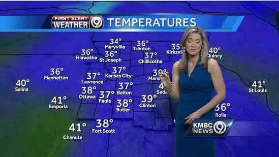 Mild, mostly dry day for Mom
