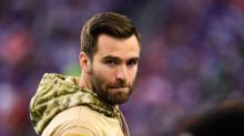 Joe Flacco visits neck surgeon, on track to return in mid-September