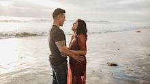 This Couple Met Right Before These Sexy Beach Photos Were Taken -but You'd Never Guess It