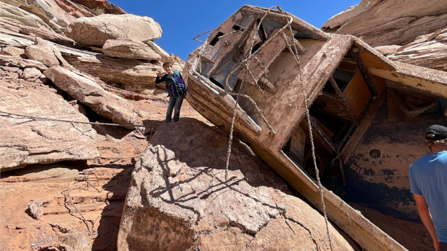 A fishing trip at Lake Powell leads to a family making an extraordinary discovery