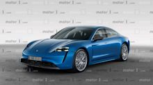 Porsche Taycan rendered imagining 600-bhp super electric sedan