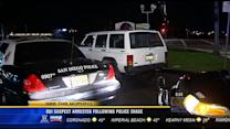DUI suspect arrested following police chase