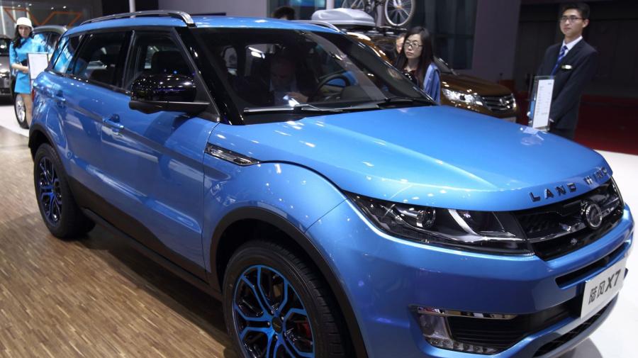 China proíbe a venda de Range Rover 'paralelo'
