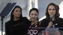 Ava Duvernay, Natalie Portman, and more know #TimesUp has more work to do