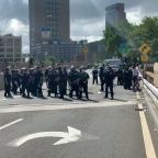 Counter-Protesters Blocking Brooklyn Bridge Arrested During Pro-Police Prayer March