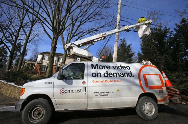 Comcast's gigabit internet should be widely available by 2018