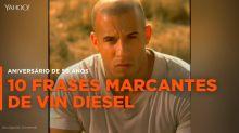10 frases marcantes de Vin Diesel