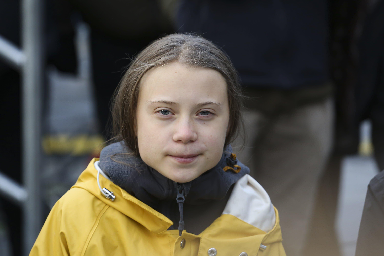 Greta Thunberg George Soros