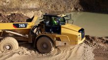 Dow Component Caterpillar Reports Machinery Sales Jump 34%