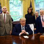 Trump pits Apollo 11 astronauts against NASA chief