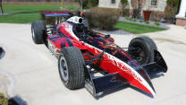 Artist Rebuilds A Street Legal IndyCar