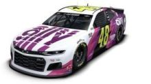 Lefty's dream: Jimmie Johnson's bond with young designer creates special No. 48 for final Texas ride