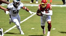 Washington RB Antonio Gibson wowed by this new luxury on first NFL road trip