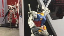 Gundam statue heads stolen from Shanghai convention found for sale online