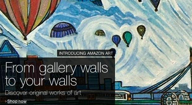 Amazon launches Amazon Art marketplace with over 40,000 fine artworks