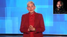 Ellen DeGeneres Breaks Down in Tears While Remembering Kobe Bryant During Emotional Monologue