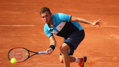 French Open diary day one: Dominic Thiem starts as he means to go on while Petra Kvitova's return warms the heart