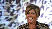 Suze Orman says investors should 'rejoice' at the Dow's more-than-1,000-point tumble on Monday — here's why