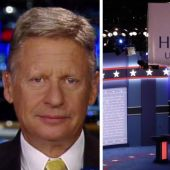 Gary Johnson on being excluded from presidential debate
