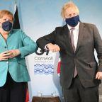 Boris Johnson news – live: Angela Merkel's 'unjustified' push for EU to quarantine Brits attacked by minister