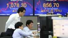 Asian stocks mixed as investors digest US, Japan data