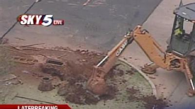 Natural Gas Leak Reported In SW OKC
