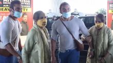 Sohail Khan Spotted at Airport Andheri With His Mother
