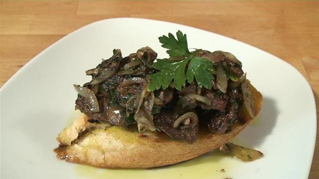 How To Cook Chicken Liver Crostini