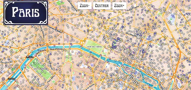 Découvrez l'origine du nom des rues de Paris grâce à une ...