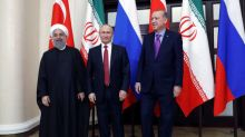 Putin wins backing from Iran, Turkey for new Syria peace push