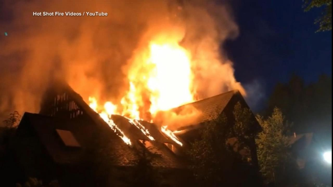 Rachael Ray's house fire under investigation [Video] Rachael Ray House Fire Video