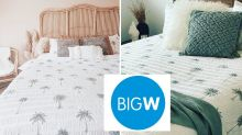 Big W's 'amazing' $49 bedding flying off the shelves