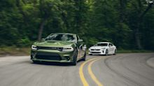 View Photos of Our Sports Sedan Battle Between the Dodge Charger and Kia Stinger GT