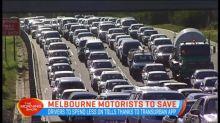 Melbourne motorists to save