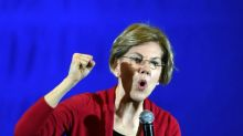 Warren suggests her moderate rivals won't stand up to rich