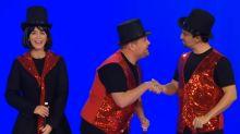 Watch James Corden, Lin-Manuel Miranda & Emily Blunt Tune Up 22 Musicals In 12 Minutes
